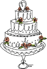 Katherines Kitchen Fancy Cake Logo